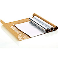 Foil and baking paper