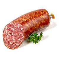 Salami and delicacies